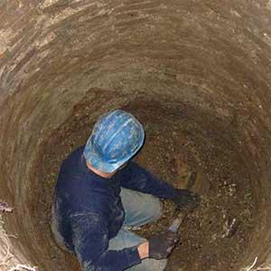 حفر چاه در اکباتان